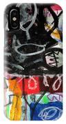 Le Jour Et La Nuit IPhone Case by Diane Desrochers