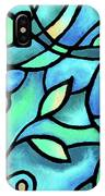 Leaves And Curves Art Nouveau Style II IPhone X Case