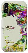 Legendary James Dean Watercolor IPhone Case