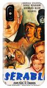 Les Miserables 1958 French Movie Classic IPhone Case