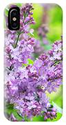Lilac Flowers IPhone Case