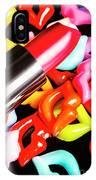 Lip Stack IPhone Case