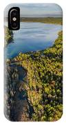 Litte Traverse Lake Vertical Panorama IPhone Case