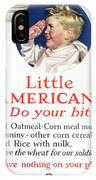 Little Americans Do Your Bit IPhone X Case
