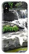 Little Waterfall. IPhone Case