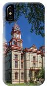 Lockhart Courthouse IPhone Case