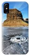 Lomagnupur Mountain Iceland IPhone Case