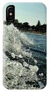 Look Into The Wave IPhone Case