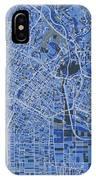 Los Angeles Map Retro 5 IPhone X Case