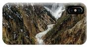 Lower Falls In Yellowstone IPhone Case