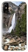 Lower Yosemite Fall IPhone Case