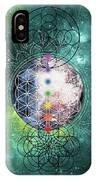 Lunar Mysteries IPhone Case by Bee-Bee Deigner