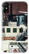M/v Stewart J. Cort IPhone Case