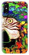 Macaw High I IPhone Case