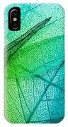 Macro Leaves Background Texture IPhone Case