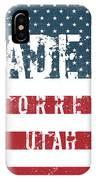 Made In Torrey, Utah #torrey IPhone Case