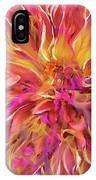 Magenta Sunshine IPhone Case by Cindy Greenstein