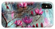 Magnolia At Midnight IPhone Case