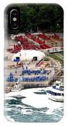 Maid Of The Mist Tour Boat At Niagara Falls IPhone Case by Rose Santuci-Sofranko
