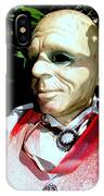 Man In Bushes IPhone Case