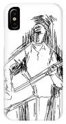 Man On Guitar IPhone Case