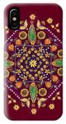 Mandala Flowering Series#2. Terracotta IPhone X Case