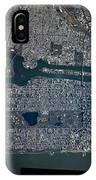 Manhattan - 2012 From Space IPhone Case by Celestial Images