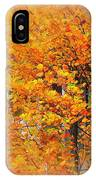 Maple Focal Zoom IPhone Case