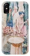 Market Scene  IPhone Case