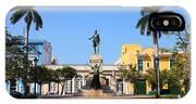 Matanzas, Cuba - Main Square. Palm IPhone X Case