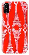Match Made In Paris IPhone Case