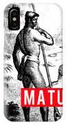 Matua IPhone Case by MB Dallocchio