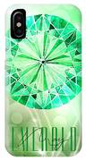 May Birthstone - Emerald IPhone Case