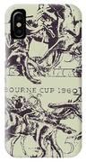 Melbourne Cup 1960 IPhone Case