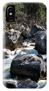 Merced River And Vernal Fall, Yosemite National Park IPhone Case