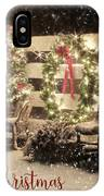 Merry Christmas To All IPhone Case