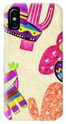 Mexican Mural IPhone Case