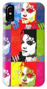 Michael Jackson Andy Warhol Style IPhone Case
