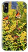 Monarch Gathering 1 IPhone Case
