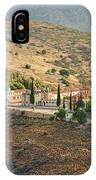 Monastery Agion Anargiron Above Argos IPhone Case