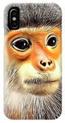 Monkey 2 IPhone Case
