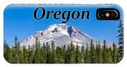 Mount Hood Oregon In Fall IPhone Case