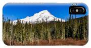 Mount Hood Oregon In Winter 01 IPhone Case