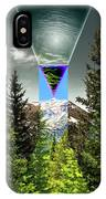 Mount Lincoln's Locus IPhone Case