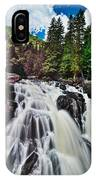 Mount Tremblant Waterfall IPhone X Case
