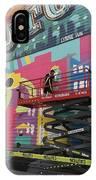 Mural Near The World Trade Center IPhone Case
