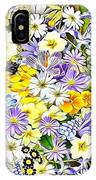 Naturalness And Flowers 54 IPhone Case