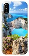 Navagio Bay IPhone Case