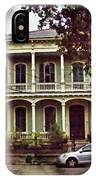 New Orleans Home In Watercolor IPhone Case