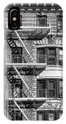 New York City Fire Escapes IPhone X Case